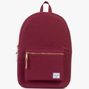 Herschel Maroon Settlement Backpack